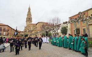 Santo Domingo acogió la jornada de exaltación de bandas de Semana Santa