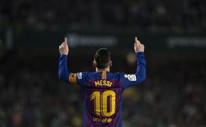 Ni la lesión de Luis Suárez empaña la fiesta de Messi y Valverde