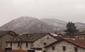 Nieva en Ezcaray