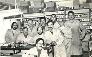 La retina: trabajadores de 'Cadarso' en los años 70