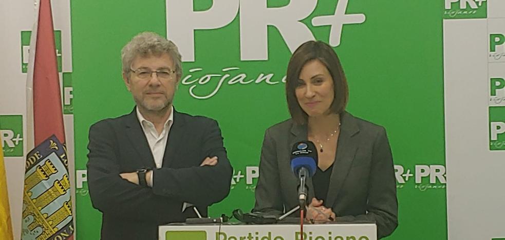Raquel Cabrera optará por el PR+ a la Alcaldía de Lardero tras el acuerdo con UPyD