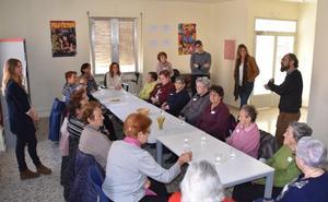 Cervera inaugura el taller de envejecimiento activo y saludable de AFA-Rioja