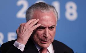 La justicia brasileña ordena el arresto del expresidente Temer por corrupción