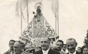 La Retina: procesión de la Virgen de Vico en los años 50