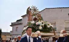 Procesión de Nuestra Señora de la Anunciación en las fiestas de El Villar de Arnedo