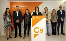 Cs presenta un equipo «comprometido» para impulsar medidas que necesita La Rioja