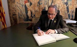 Torra formaliza el tercer relevo en su gobierno por cuestiones electoralistas
