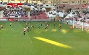 La Unión Deportiva Logroñés empató a cero ante el Leioa en un partido marcado por la polémica arbitral