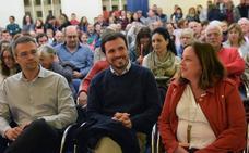 Garzón pide en Logroño «la unidad de la izquierda para afrontar los retos»
