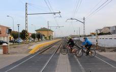 División en Rincón de Soto por el proyecto de la variante del ferrocarril