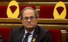 Torra vincula un eventual apoyo a Sánchez a que se avenga a abordar la autodeterminación con un relator