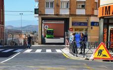 Abierto acceso a la estación de autobuses de Calahorra