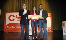 Inés Arrimadas llega el lunes a Logroño