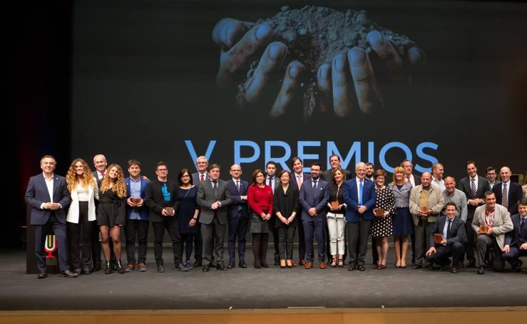 Gala de entrega de los premios de la Rioja Capital