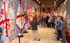 La evolución de la bandera de España, en Santo Domingo