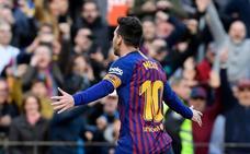 Messi no se cansa de coleccionar récords