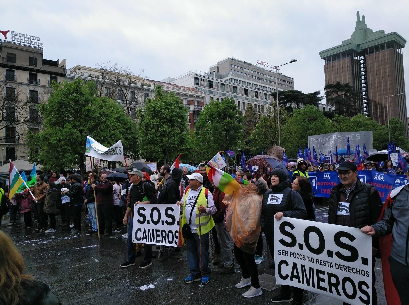 La Rioja rural se sumó a la multitudinaria 'Revuelta de la España Vaciada' en Madrid