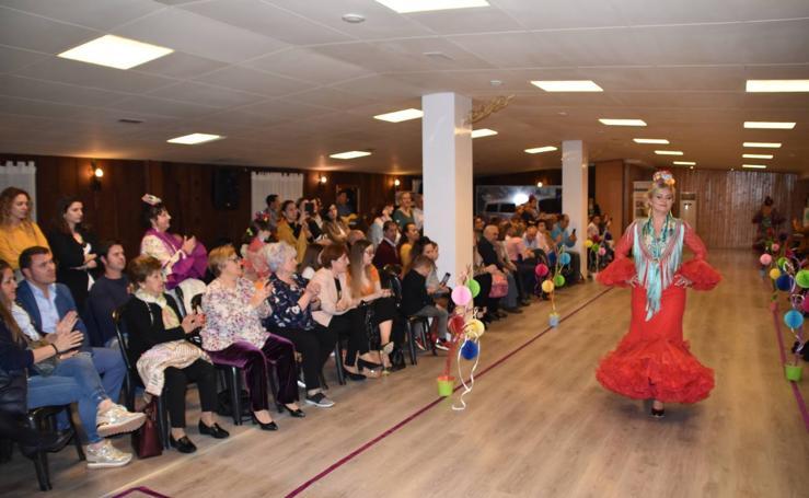 Desfile flamenco solidario en Calahorra