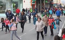 Alrededor de 500 arnedanos participan en la XVII Carrera por la Salud y contra la droga