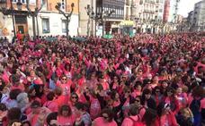 Logroño vive la invasión rosa