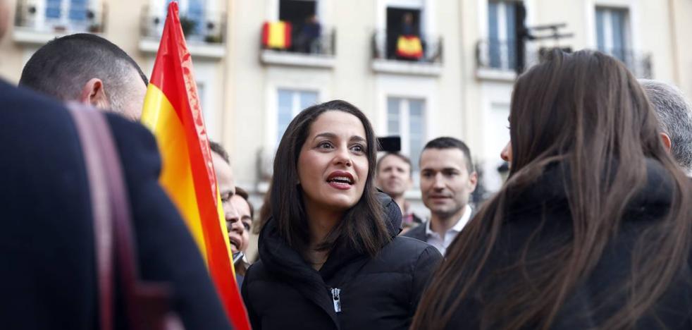 Inés Arrimadas se postula en Logroño como el partido del cambio y la igualdad de todos los españoles
