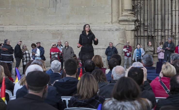 Arrimadas visita Logroño