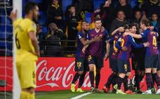 El Barça salva la honra en la locura de La Cerámica