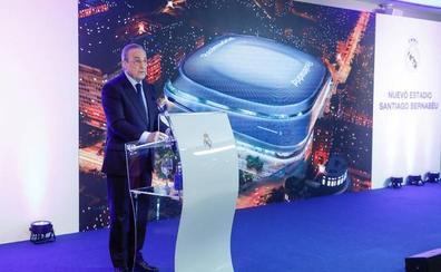 El Real Madrid presenta un Santiago Bernabéu galáctico