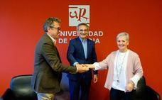 La UR suscribe un protocolo general de actuación con Asprodema y Fundación Asprem para enseñar juntos