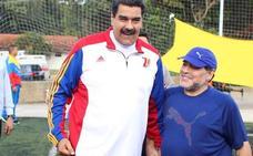Maradona, investigado por apoyar a Maduro y atacar a Trump