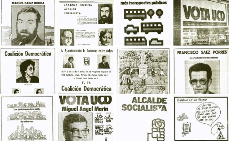 La propaganda electoral en las elecciones municipales de 1979
