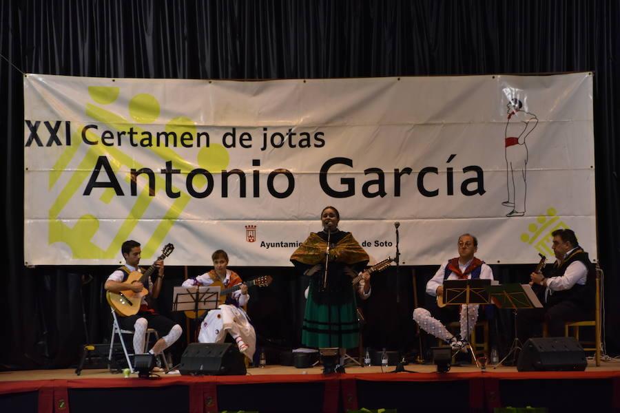 XXI Certamen de Jotas Antonio García de Rincón de Soto