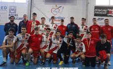 Los cadetes del Ciudad de Logroño juegan la minicopa