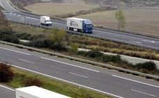 La AP-68 cierra la noche del miércoles entre Alfaro y Calahorra en sentido Bilbao