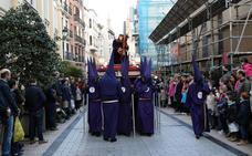 Semana Santa en Logroño: suspendida la procesión de Jesús camino del Calvario, las otras dos realizan un recorrido corto