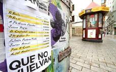 El Ayuntamiento de Logroño ordena retirar los carteles de los 'papeles de Bárcenas'