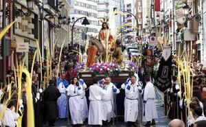 Semana Santa en Logroño: procesión del domingo de Ramos