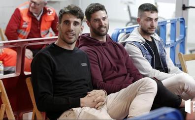 Javi Martínez, un aficionado más en el World Pádel Tour en Logroño