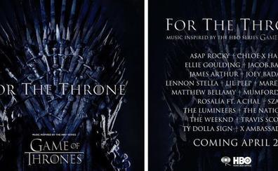 Rosalía aparecerá en un disco con música inspirada por 'Juego de Tronos'