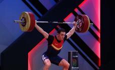 Andrés Mata, plata europea en arrancada de hasta 81 kilos