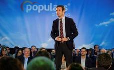 Casado advierte de que no dimitirá por severo que sea el retroceso del PP en las urnas