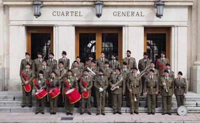 La Unidad de Música del cuartel San Marcial, de Burgos, actuará el sábado en Santo Domingo