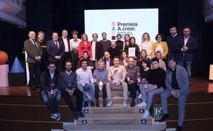 Los premios A crear reconocen la creatividad