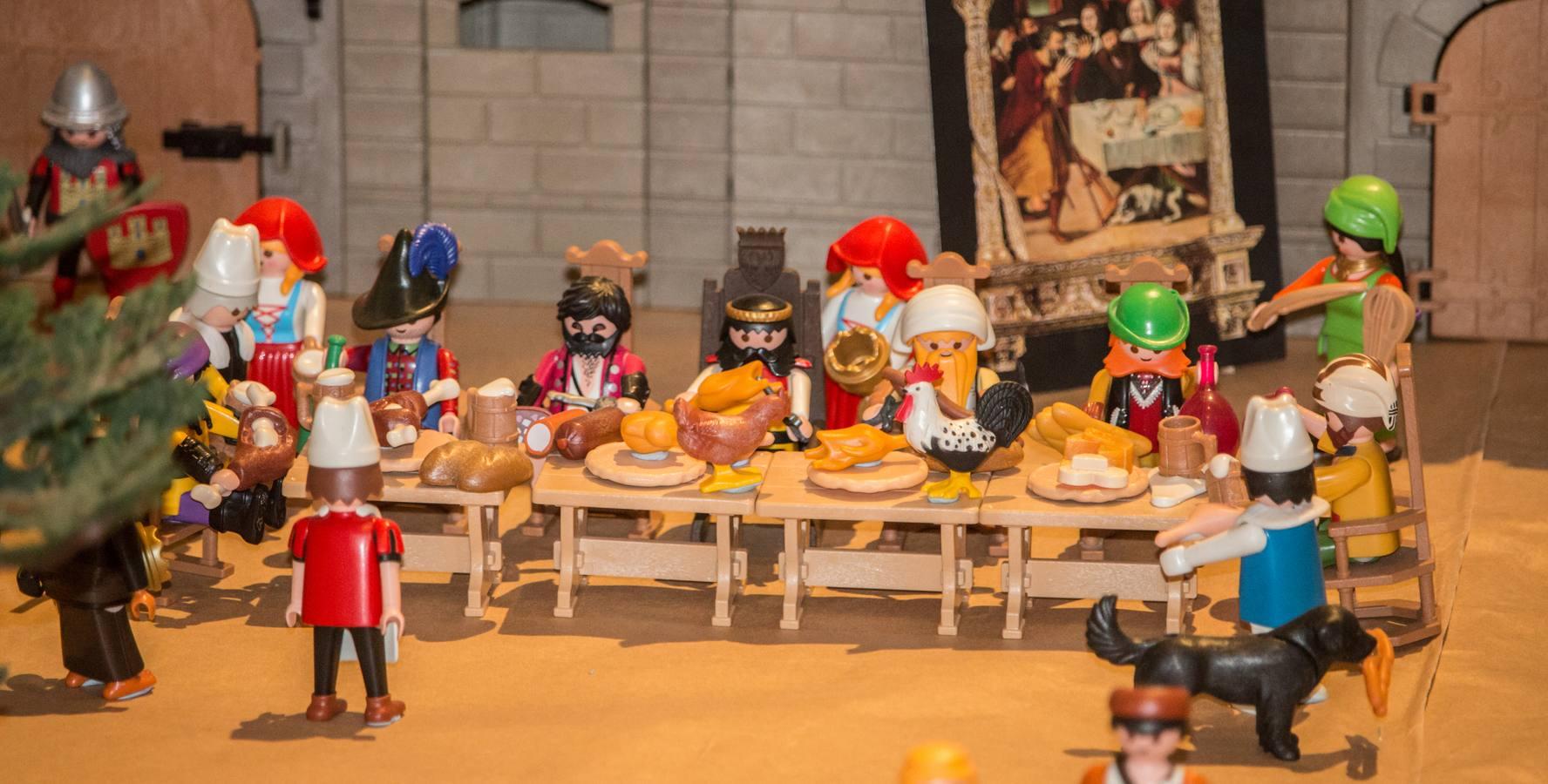 La vida y milagros de Santo Domingo, según Playmobil