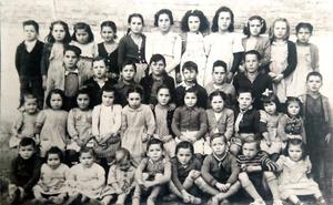 Alumnos de Canillas en 1947