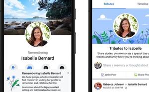 Facebook honra a los difuntos