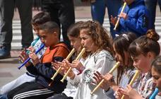 Musiqueando en las calles de Rincón de Soto