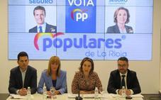 Gamarra asegura que el programa del PP transmite «seriedad y credibilidad»