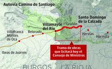 El Gobierno aprueba la licitación de 14,4 kilómetros de la Autovía del Camino desde Santo Domingo