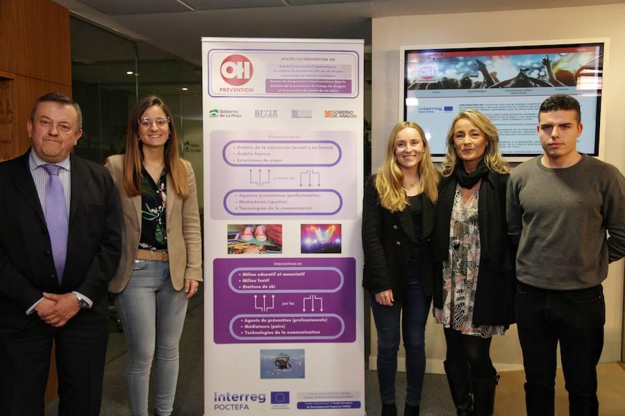'Prevention OH' sensibiliza de los riesgos asociados a las drogas en la UR